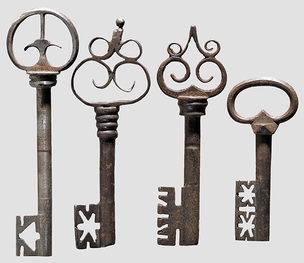 Замки ключи
